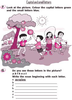 Grade 2 Grammar Lesson 1 The alphabet – Capital and small letters