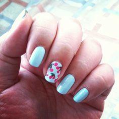 Cherries - March 18, 2013 #manicure #nails #nailpolish #nailart #manicuremonday