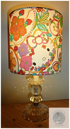 Liberty of London Hello Kitty Tana Lawn 20 cm Lampshade on Etsy, $60.46