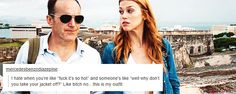i hate whey you're like... || Phil Coulson, Bobbi Morse || Text Post || #fanedit #humor #meme