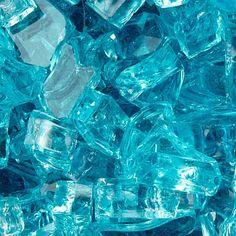 FC - Aquamarine Fire Glass