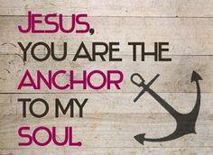 Jesus, you are my rock, my sword, my shield
