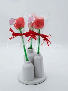 Rosas de Gominola | Sweet Design