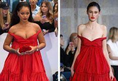 21 ruha a kifutóról, ami teljesen másként néz ki a modellen, mint a hírességen Strapless Dress, Prom Dresses, Formal Dresses, Beyonce, Rihanna, Salma Hayek, Zuhair Murad, Jean Paul Gaultier, Katy Perry