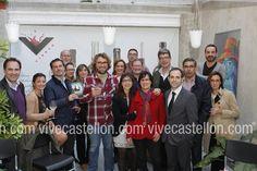 Dia del libro junto a Las Plumas Negras de Castellón y el escritor Juan Bolea