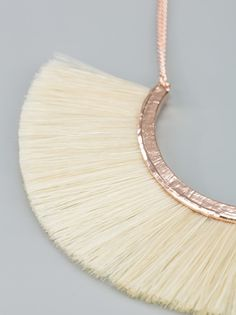 BJORG - horse hair necklace