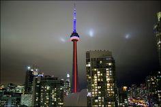 Toronto City Lights, Us Travel, Cn Tower, Toronto, Building, Buildings, Construction