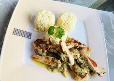 Diétás Petrezselymes csirkemell recept foto Meat, Chicken, Food, Essen, Meals, Yemek, Eten, Cubs