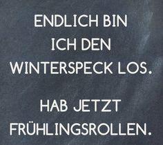 #winterspeck vs. frühlingsrollen