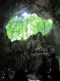 Cavern in Los Haitises National Park, Sabana de la Mar, Dominican Republic
