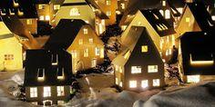 sous mon arbre : Maisons en papier