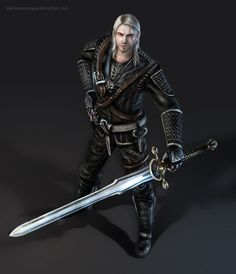 The Witcher by BlackAssassiN999 on DeviantArt