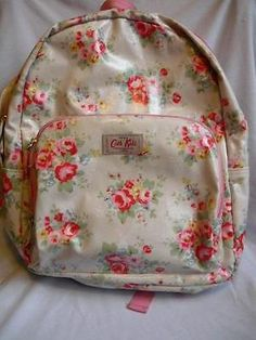#Waterproof rucksack #floral design by cath #kidston,  View more on the LINK: http://www.zeppy.io/product/gb/2/301825587604/