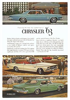 1963 Chrysler Ad