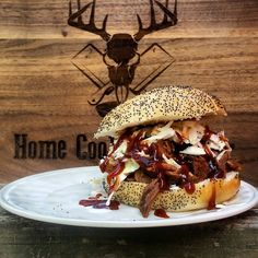 Whiskey BBQ Venison Sandwich | Home Cookin' Hunter