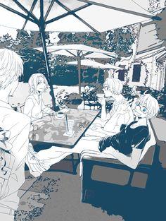 とうき - Hetalia -  England / France / Canada / America
