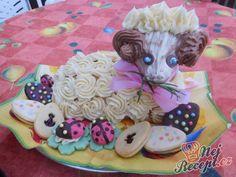 Kokosový velikonoční beránek Sugar, Cookies, Cake, Desserts, Food, Crack Crackers, Tailgate Desserts, Deserts, Biscuits