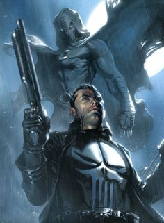 MOON KNIGHT AND THE PUNISHER