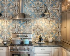Beautiful Mediterranean Motif Tile For a Colorful Home - Home Design Magazine