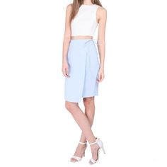 Runway Bandits - If you like: Streamlined feminine silhouettes such as crop tops, wrap skirts and minis.Runway Bandits Adelaide Skirt, $35