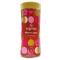 Argo Tea Unsweetened Hibiscus Apple Tea (12x13.5Oz)