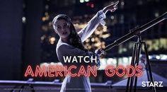 American Gods: Zorya Polunochnaya (Erika Kaar) photo via American Gods Instagram