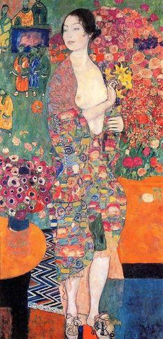 Die Tanzerin (The Dancer) by Gustav Klimt - Reproduction Oil Painting Gustav Klimt, Klimt Art, Illustrations, Illustration Art, Art Folder, Soul Art, Oeuvre D'art, Figure Drawing, Art History
