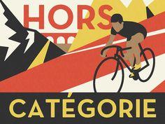 Pavlov Cycling Print / Poster