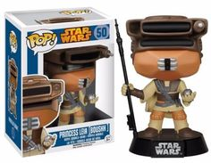 From Star Wars: Episode VI - Return of the Jedi, the Star Wars Boushh Leia Pop! Vinyl Bobble Head captures the daring princess in her iconic disguise worn to rescue Han Solo from Jabba's palace! Measuring approximately 3 3/4-inches tall, Leia will look great pretty much any where you put her! For ages 3 and up.
