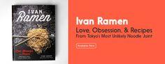 Ivan Ramen - 25 Clinton Street (Stanton Street), Lower East Side; 646-678-3859 - NYTimes top new restaurant of 2014.