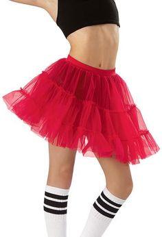 Petticoat Tiered Tricot Dance Skirt | Balera™  SPANISH DOLLS