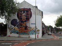 Heerlen Street Art  2013 realiseert eerste Mural