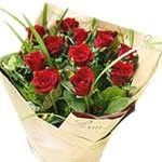 Red Roses Hand Bouquet LUV001