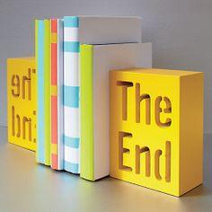 The End Bookend. CB2.com