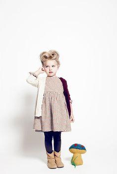 victory rolls #kids #fashion