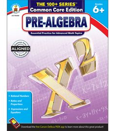 The 100+ Series, Pre-Algebra, offers in-depth practice and review for challenging middle school math topics such as ratios and proportions; rational numbers; and expressions and equations. Bonus activities on each page help extend the learning and activities, making these books perfect for daily review. Common Core State Standards have raised expectations for math learning, and many students in grades 6–8 are studying more accelerated math at younger ages.  The 100+ Series provides the ...