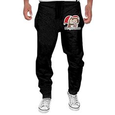 a2e3d247fe2 MULY Mens University Of Maine Black Bears Sweatpants Long Hip Hop Pant --  Check this awesome product by going to the link at the image.