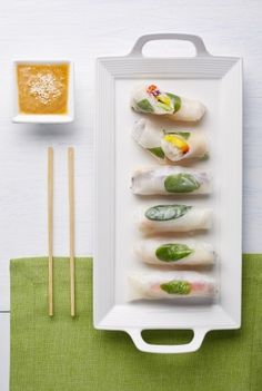 Vegan Vietnamese summer roll Gỏi cuốn