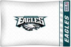 NFL Philadelphia Eagles Pillow Case Logo by Sports Coverage. Save 63 Off!. $14.95. NFL Philadelphia Eagles Pillow Case Logo. Sports Coverage NFL Philadelphia Eagles Pillow Case Logo