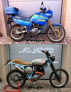 L'intramontabile livrea Gulf non stanca mai quando viene riproposta con gusto ed eleganza...                     - Nico Dragoni Motociclette...