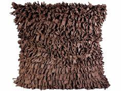 t-shirt pillow - brown