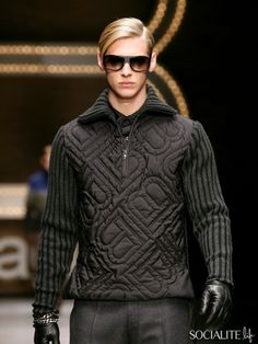 Jeremy Dufour men's style in black