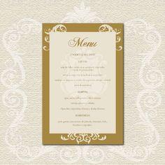 Menu Casamento