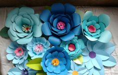 GIANT PAPER FLOWERS  Backdrop Photo Prop Wedding Decor Durable Cardstock