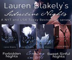 Lauren Blakely Seductive Nights Sponsor Ad
