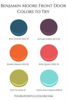 Spice up your curb appeal with a simple front door paint!  Favorite front door colors - split pea or tropicana cabana?