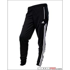 adidas Womens Condivo 12 Training Pant Black ❤ liked on Polyvore featuring activewear, activewear pants, pants, bottoms, adidas, sweatpants, black sweat pants, sweat pants, adidas sweatpants and adidas sportswear