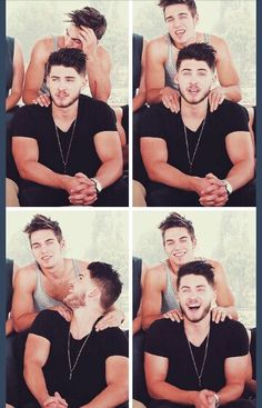Cody Christian and Dylan Sprayberry