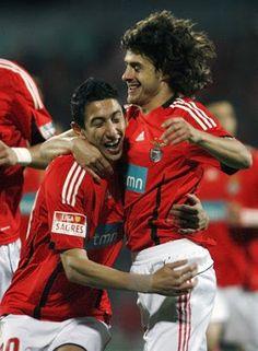Di Maria e Aimar, Benfica