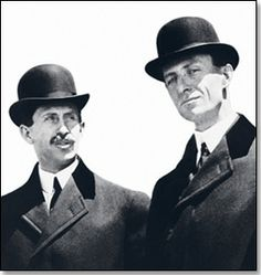 The Wright Brothers, fathers of modern aviation.